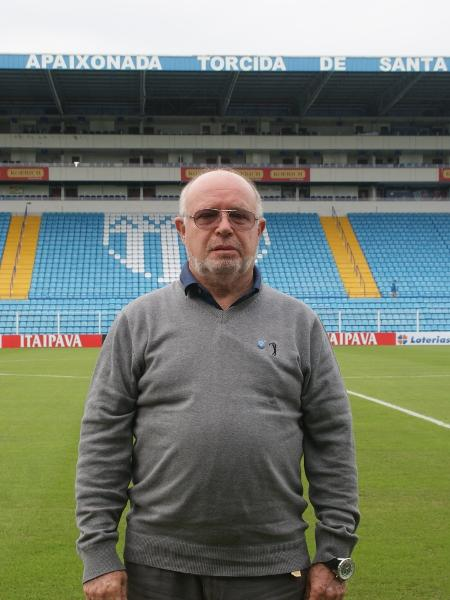 Francisco José Battistotti, presidente do Avaí - Alceu Atherino / AVAÍ F.C.