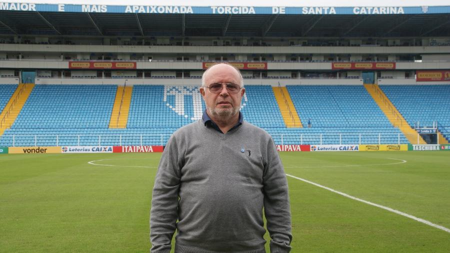 Francisco José Battistotti, presidente do Avaí, é o líder da Associação Brasileira de Clubes de Futebol - Alceu Atherino / AVAÍ F.C.