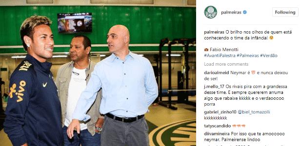 Neymar CT - Reprodução/Instagram - Reprodução/Instagram