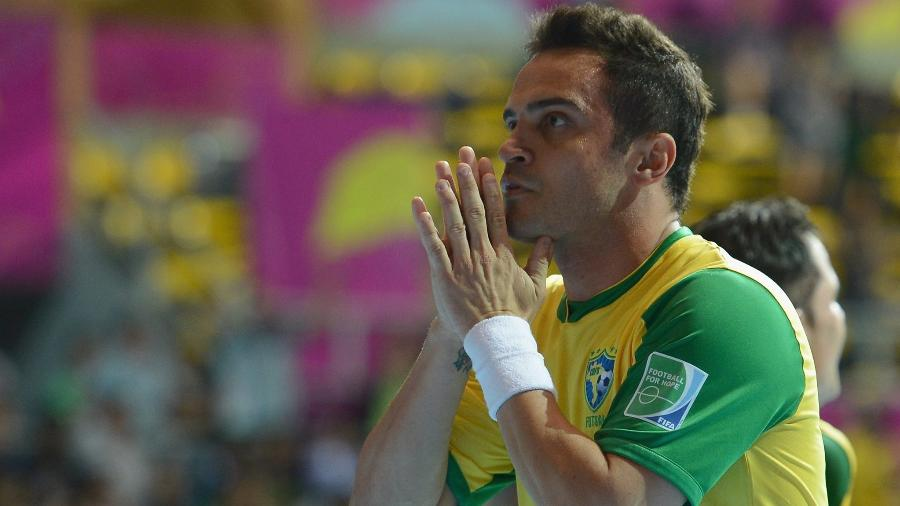Falcão marcou 401 gols pela seleção brasileira e cerca de 3 mil no total da carreira no futsal - Lars Baron - FIFA/FIFA via Getty Images