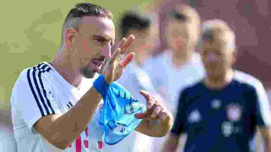 Franck Ribéry conquistou mais de 20 títulos em 12 temporadas com a camisa do time alemão - Xinhua/Nikku