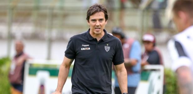 Thiago Larghi comandou o Atlético-MG em seis rodadas no Mineiro e somou dez pontos