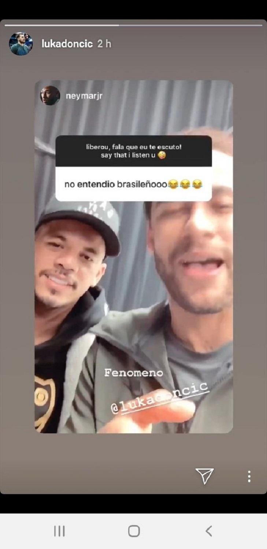 Neymar Luka Doncic