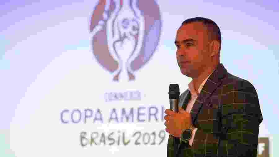 Rafael Dudamel, treinador da Venezuela, aparece como uma possibilidade para a diretoria do Atlético-MG - Ronaldo Schemidt/AFP