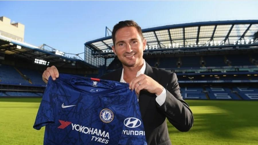 Lampard é anunciado como técnico do Chelsea - Divulgação/Chelsea