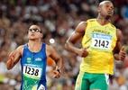 Revezamento 4x100m do Brasil recebe medalha de bronze dos Jogos de Pequim