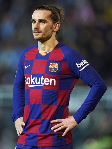 Antoine Griezmann, do Barcelona, durante jogo contra o Ibiza pela Copa do Rei - Quality Sport Images/Getty Images