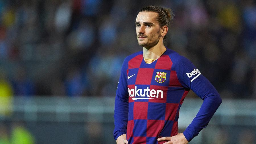 Antoine Griezmann, do Barcelona, pode ir para Inter de Milão em troca por Lautaro - Quality Sport Images/Getty Images