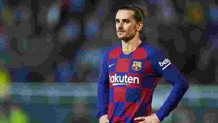 Antoine Griezmann, do Barcelona, está sendo pouco aproveitado no clube - Quality Sport Images/Getty Images