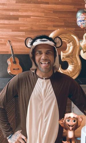 Aniversário de 37 anos de Daniel Alves