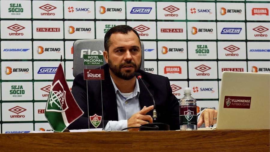 Mário Bittencourt, presidente do Fluminense, fez balanço dos dois anos de gestão - Mailson Santana/Fluminense FC