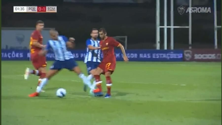 Pepe deu dura entrada em Mkhitaryan e causou briga em jogo amistoso - Reprodução