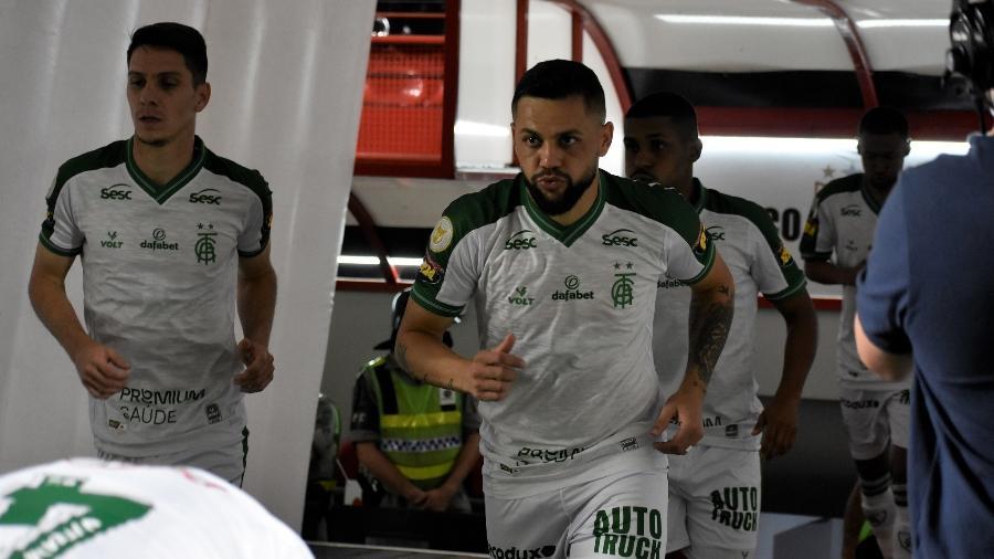 O América-MG retornou à elite do futebol brasileiro e espera se firma na Série A em 2021 - Marina Almeida/América-MG