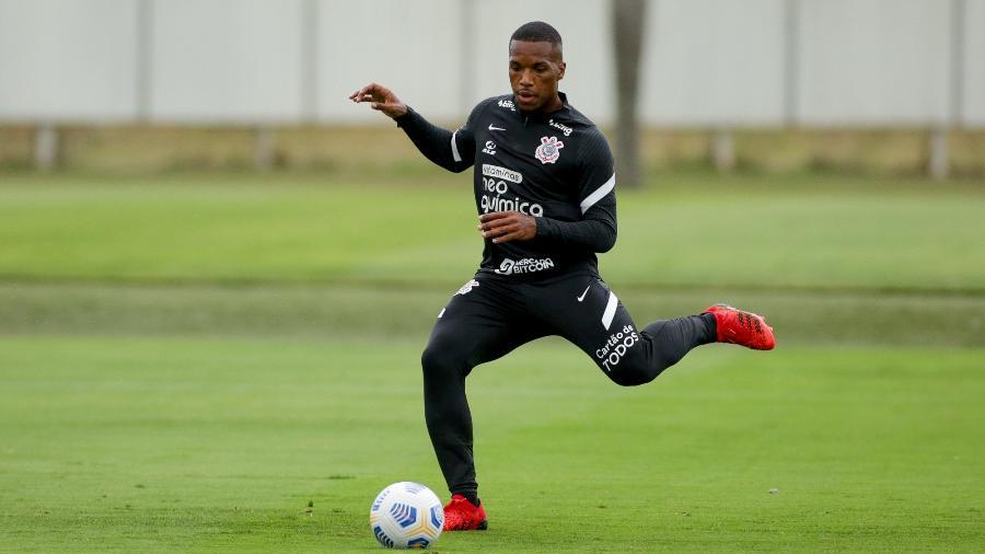 Volante de origem, jogador não tem definida sua vaga no time no clássico diante do Palmeiras - Rodrigo Coca/Agência Corinthians