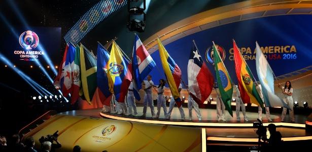 Sorteio da Copa América Centenário 2016 foi realizado em casa de shows de Nova York