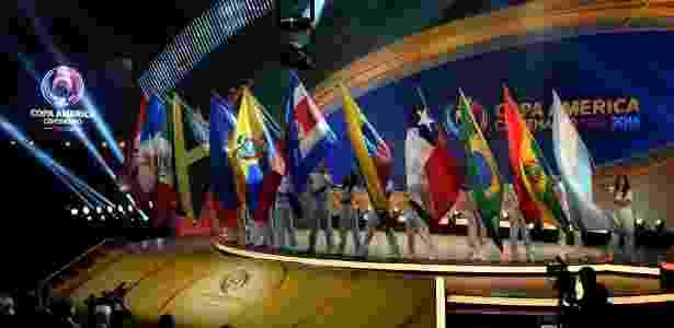 Sorteio da Copa América Centenário 2016 foi realizado em casa de shows de Nova York - Mladen ANTONOV