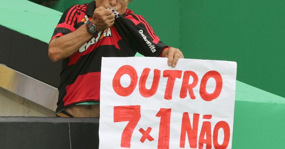 Hoje não! Brasileiro faz piada relembrando derrota do Brasil para a Alemanha em 2014