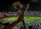 Colômbia presta homenagem aos 71 mortos em acidente aéreo - Luis Acosta/AFP Photo