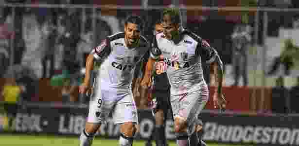 Pela primeira vez em 2017 a dupla Fred e Rafael Moura não conseguiu evitar a derrota do Atlético-MG - Bruno Cantini/Clube Atlético Mineiro