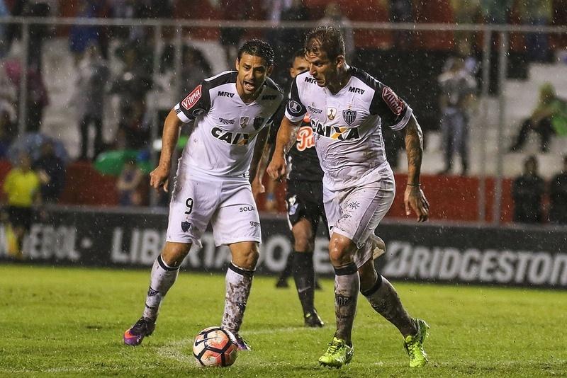 Pela primeira vez em 2017 a dupla Fred e Rafael Moura não conseguiu evitar a derrota do Atlético-MG