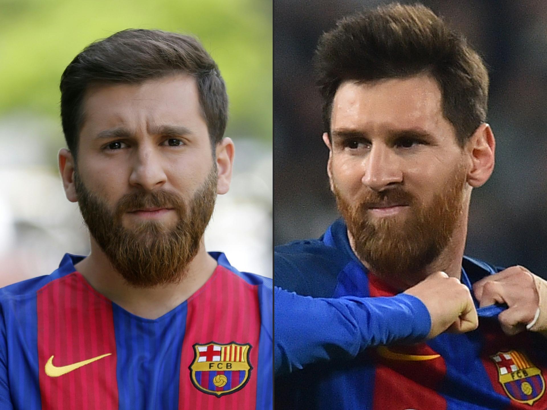 Iraniano é levado à delegacia por ser sósia de Messi - 08 05 2017 - UOL  Esporte 20a39ca406ffc