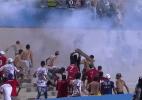 Goiás consegue redução de pena e já pode receber torcedores nos jogos (Foto: Reprodção/Premiere FC)