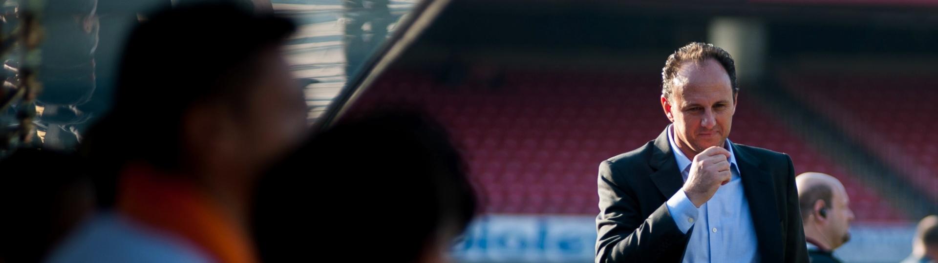 Rogério Ceni durante jogo do São Paulo contra o Fluminense, no Morumbi