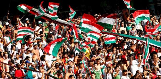 Torcida do Fluminense vai encher o Maracanã na quinta-feira