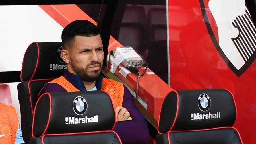 Aguero começou no banco de reservas - REUTERS/Dylan Martinez
