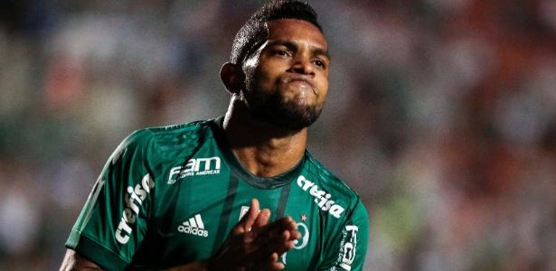 Borja anotou dez gols em seu primeiro ano pelo Palmeiras