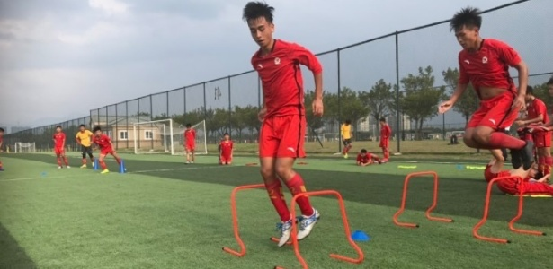 Guangzhou tem academia gigante na China e uma unidade em Madri para formar jogadores