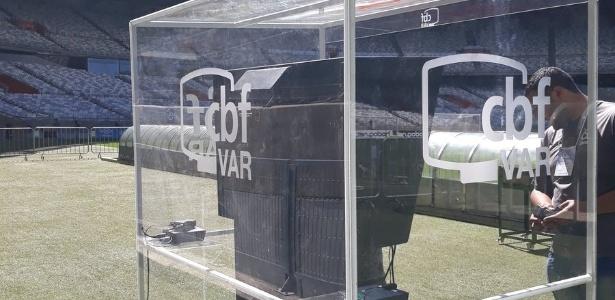 Mineirão já utilizou o VAR em 2018 em jogos da Libertadores e Copa do Brasil - Reprodução/Mineirão