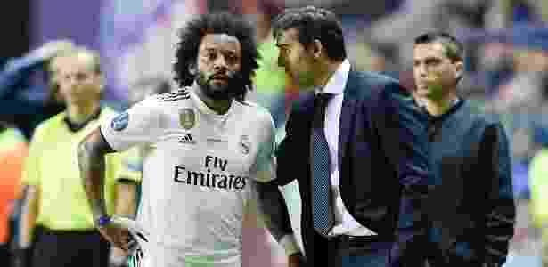 Lateral já teria manifestado desejo de seguir passos de Cristiano Ronaldo -  JAVIER SORIANO / AFP