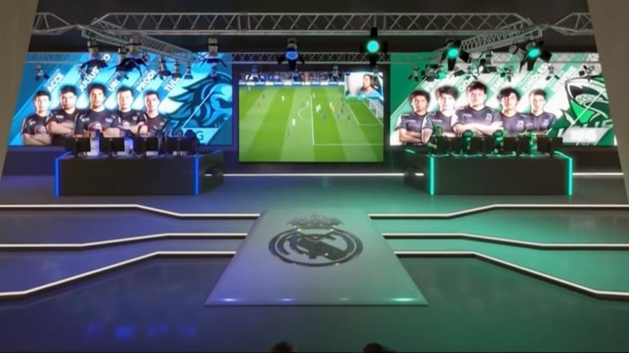 Santiago Bernabéu terá arena de eSports - Reprodução