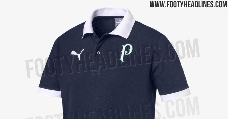 Camisa casual do Palmeiras
