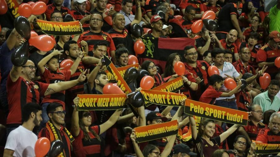 Torcida do Sport na Ilha do Retiro - Site oficial Sport