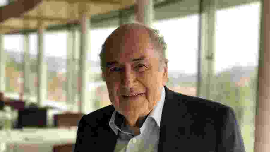 Joseph Blatter, ex-presidente da Fifa, em foto de abril de 2019 - Jamil Chade/UOL