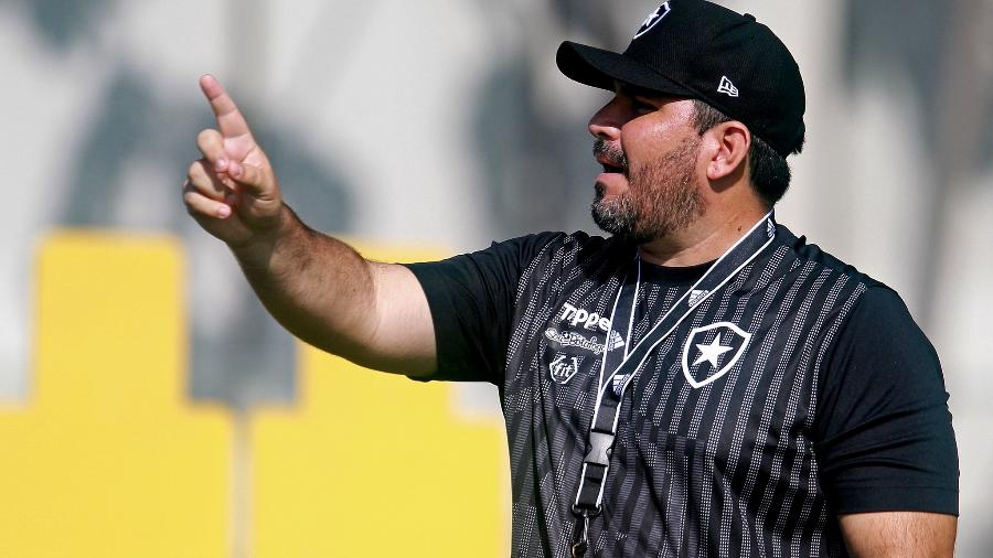 Eduardo Barroca regressa ao Botafogo após ser demitido em outubro de 2019 - Vitor Silva/SSPress/Botafogo
