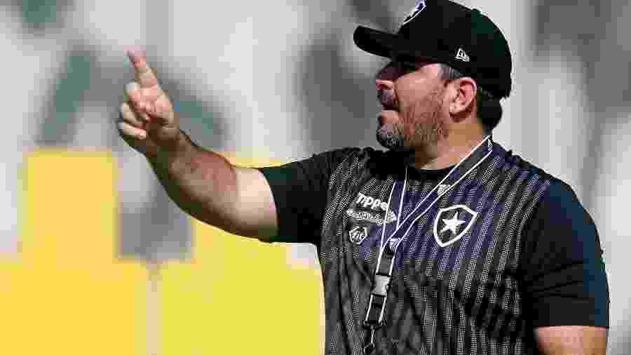 Eduardo Barroca chegou ao Botafogo pouco antes do início do Campeonato Brasileiro - Vitor Silva/SSPress/Botafogo