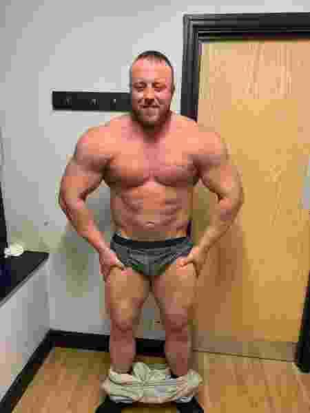 Ben Harnett, fisiculturista inglês - Reprodução/Facebook