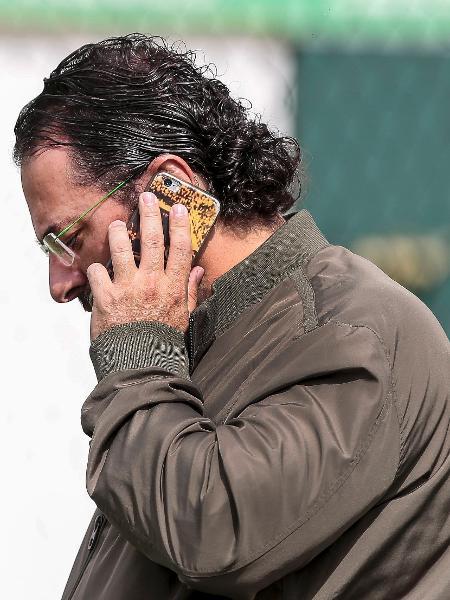 O gerente de futebol Alexandre Mattos durante treino no CT Academia de Futebol - Ale Cabral/AGIF