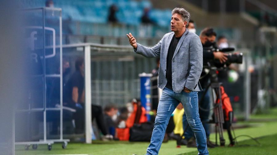 Renato Gaúcho prorrogou seu contrato com o Grêmio e clube oficializou - Lucas Uebel/Grêmio FBPA