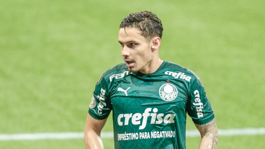 Raphael Veiga foi um dos destaques contra o Corinthians - Marcello Zambrana/AGIF