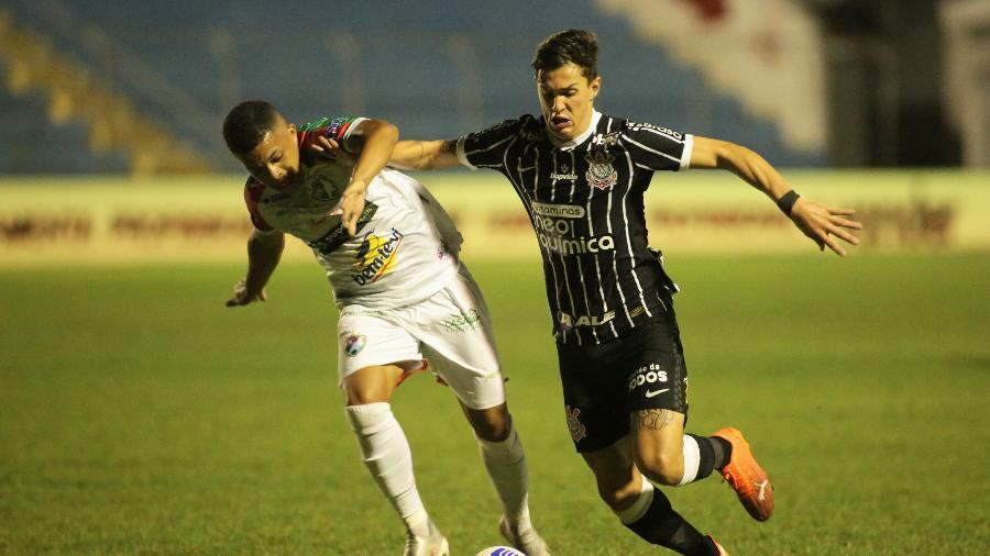 Mateus Vital se machucou no dia 17 de março, em partida contra o Salgueiro pela Copa do Brasil  - Ag. Corinthians