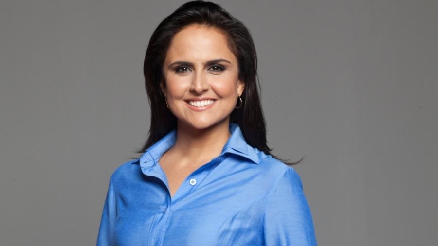 Carla Cecato, apresentadora da Record - Edu Moraes/Divulgação/TV Record