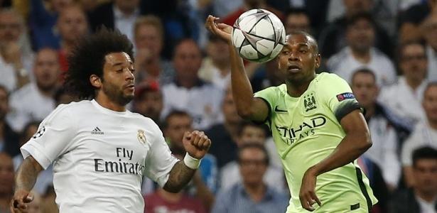 Manchester City perdeu do Real Madrid na semifinal da Liga dos Campeões