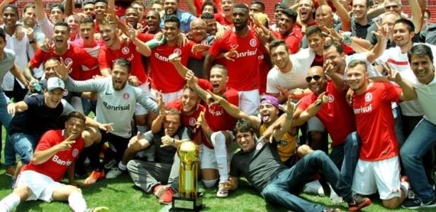Inter venceu Copa FGF e Supercopa Gaúcha enquanto time principal sofre na Série A - Divulgação Internacional