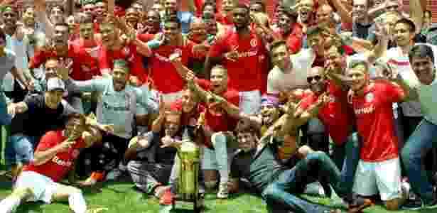 Inter B conquistou a Supercopa Gaúcha de 2016, o A levou o Gauchão do mesmo ano - Divulgação Internacional
