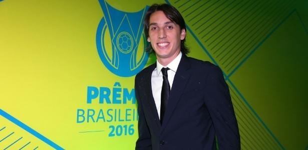 Pedro Geromel, do Grêmio, foi um dos zagueiros da seleção do Campeonato Brasileiro