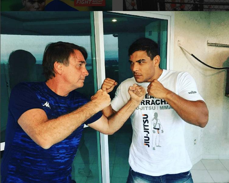 Bolsonaro e Borrachinha